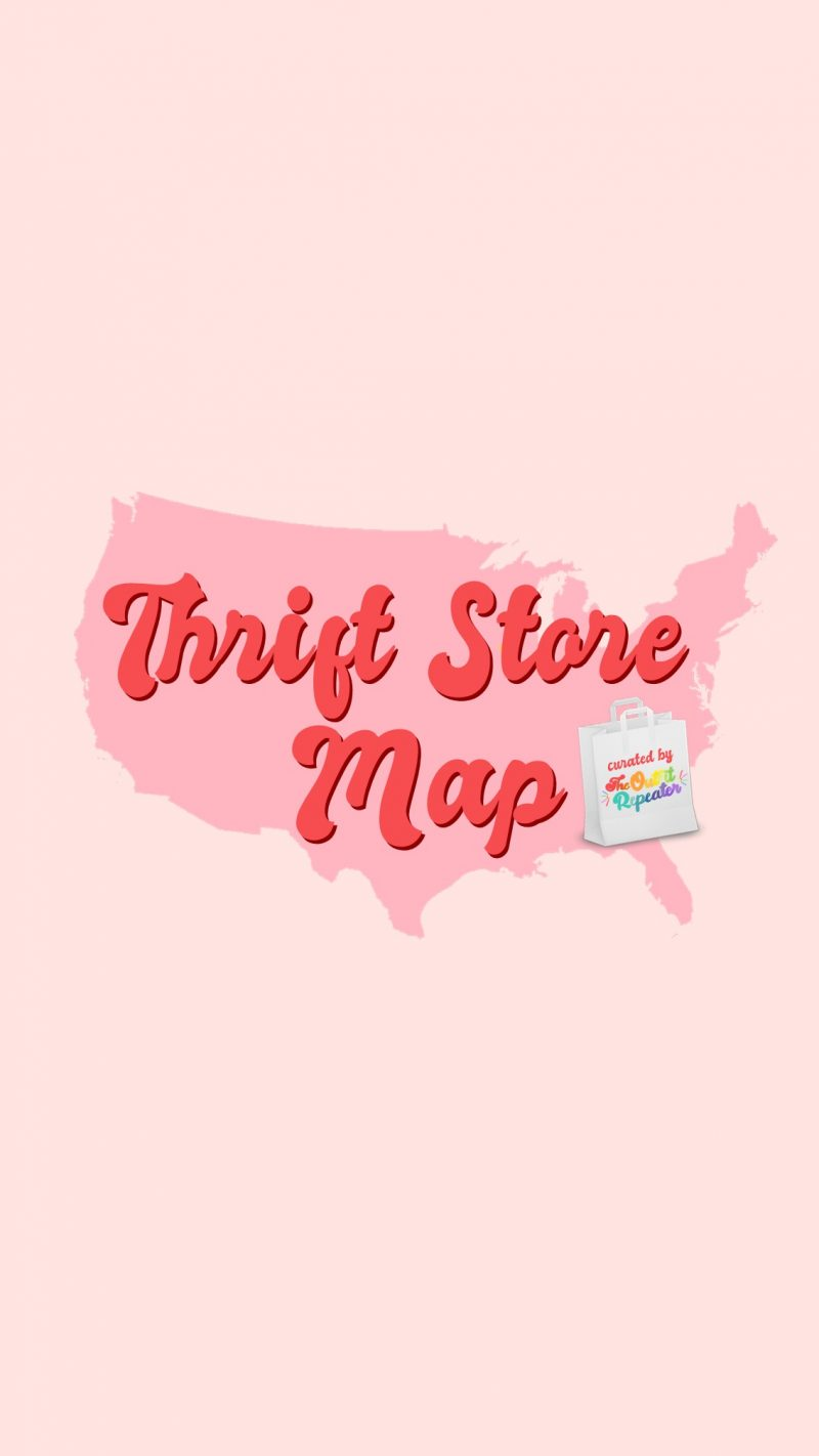 free vintage second hand consignment thrift store map resource tool hannah rupp the outfit repeater