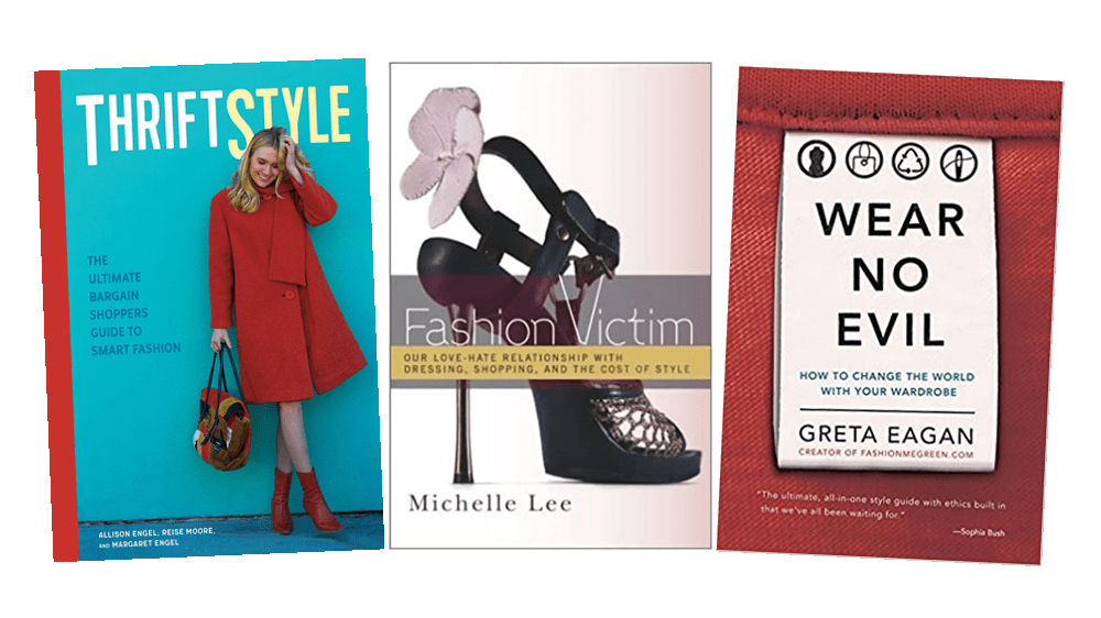 thrifting and sustainable fashion books