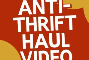 An Anti-Thrift Haul Video + Time Sensitive Announcement!