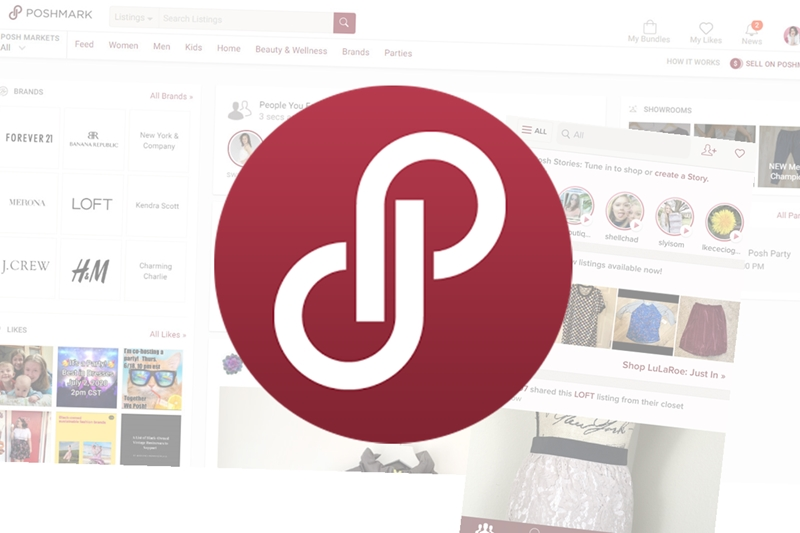 poshmark second hand marketplace review