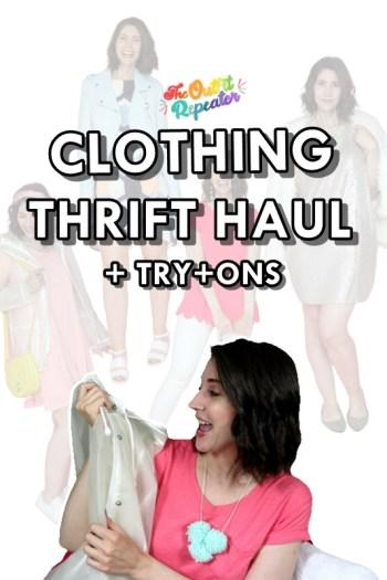 June 2020 Thrift Haul Video + July Thrifting Wishlist