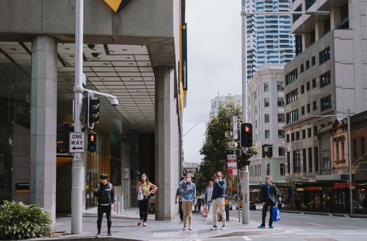 Social Distancing in Sydney, Australia 27/03/2020