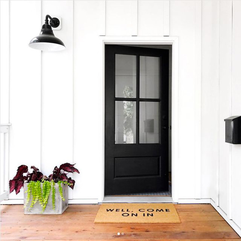 Front Door Inspiration - The Outside & In