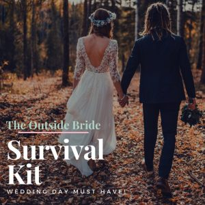 Outdoor Wedding Survival Kit