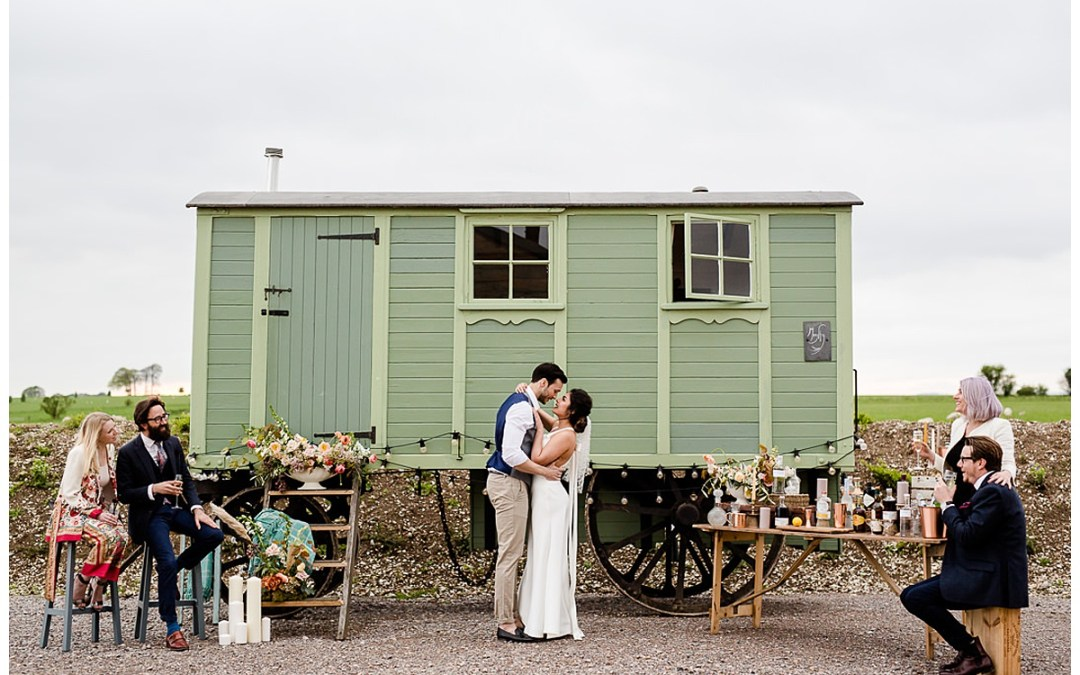 A Wedding Showcase at Eco-Friendly venue Casterley Barn, Wiltshire
