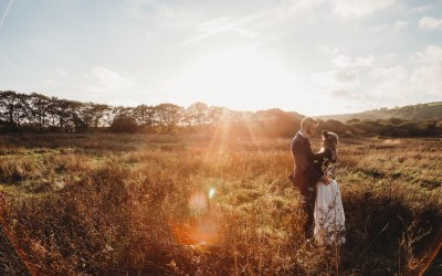 Kelsey and Andy's wedding at Fforest Farm, Cilgerran