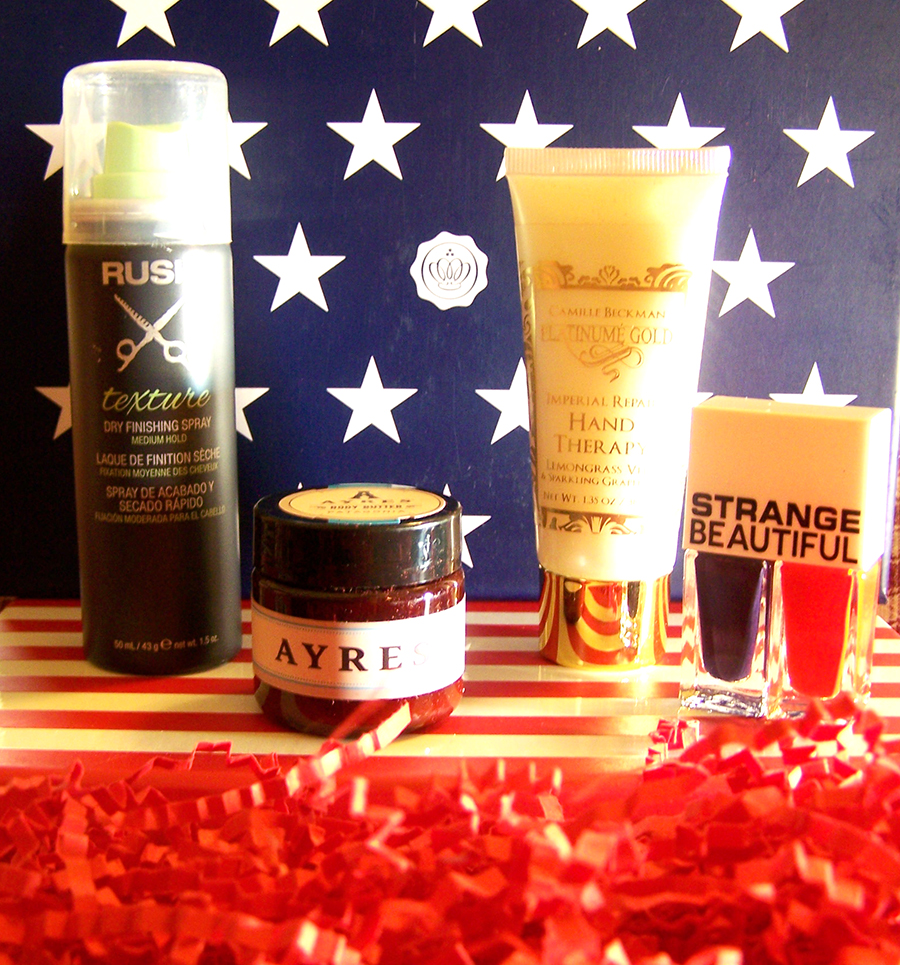 June Glossybox : The Stars & Stripes Edition