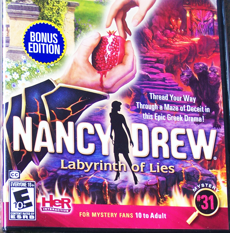 Nancy Drew: Labyrinth of Lies Video Game Review + Giveaway Ends 11/09