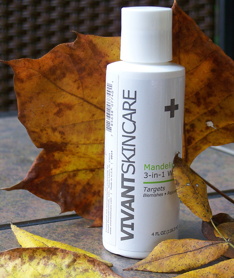 VIVANT SkinCare Mandelic 3-IN-1 WASH Review + Giveaway! Ends 11/05