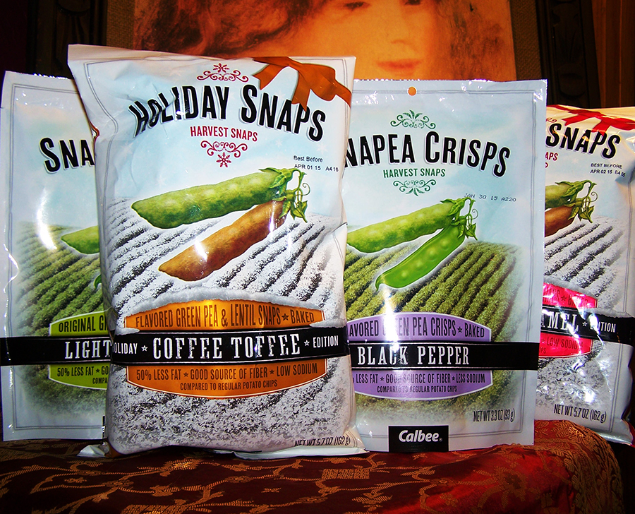 Holiday Special!!! Harvest Snaps Review + Giveaway! Ends 12/19