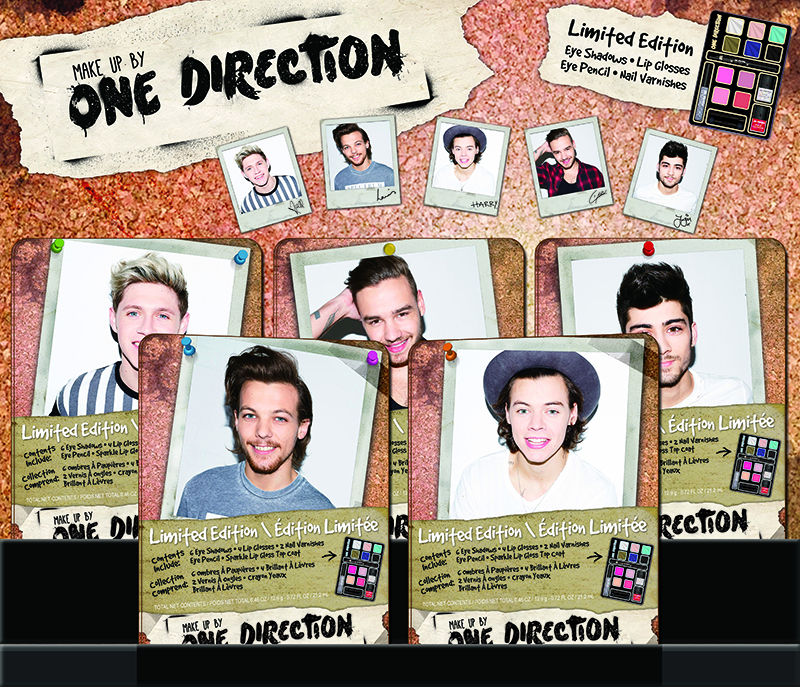 ONE DIRECTION Limited-Edition Beauty Collection PLUS a Giveaway! #makeupby1D #thelookscollection #markwins
