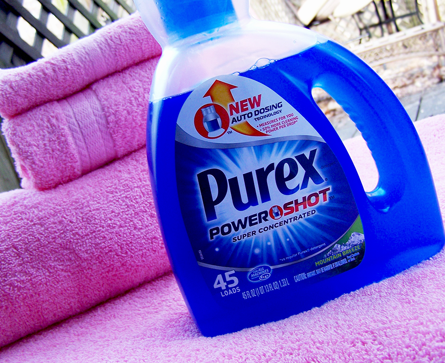 Purex Powershot Detergent Review & Giveaway! Ends 02/27, 3 Winners!