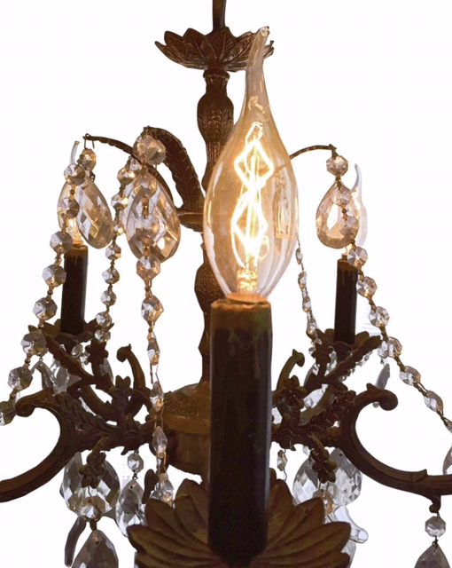 Dimmable Antique Chandelier Edison Light Bulbs