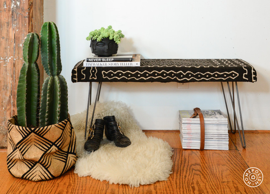 Upholstered Bench DIY Project
