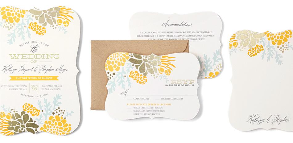 30% off foil-stamped cards & 20% off everything else at Wedding Paper Divas