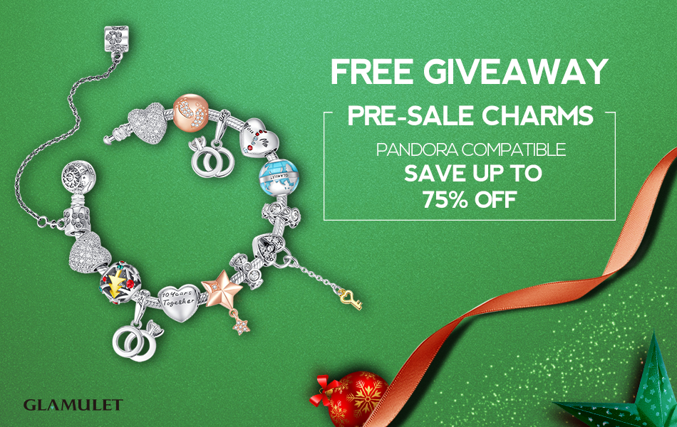 #GlamuletPresale Up to 50% Off & $75 Charm Giveaway! 100 Winners!
