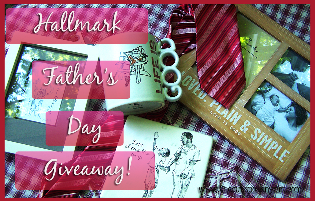Hallmark Father's Day Prize Pack Giveaway Ends 6/25