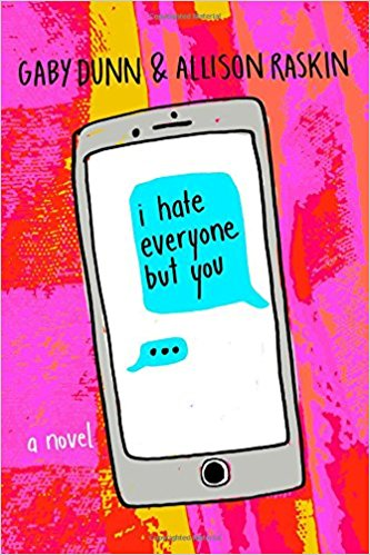 i hate everyone but you books , reading, college, kids ,teens, teenagers, parenting, young adult ,novels ,queer ,gay, gay rights, youth culture, coming out, drugs, sex ,coming of age, school ,back to school ,reviews, books, book reviews, youtube, mental illness ,ocd, friendship ,texting ,email, comedy, YA