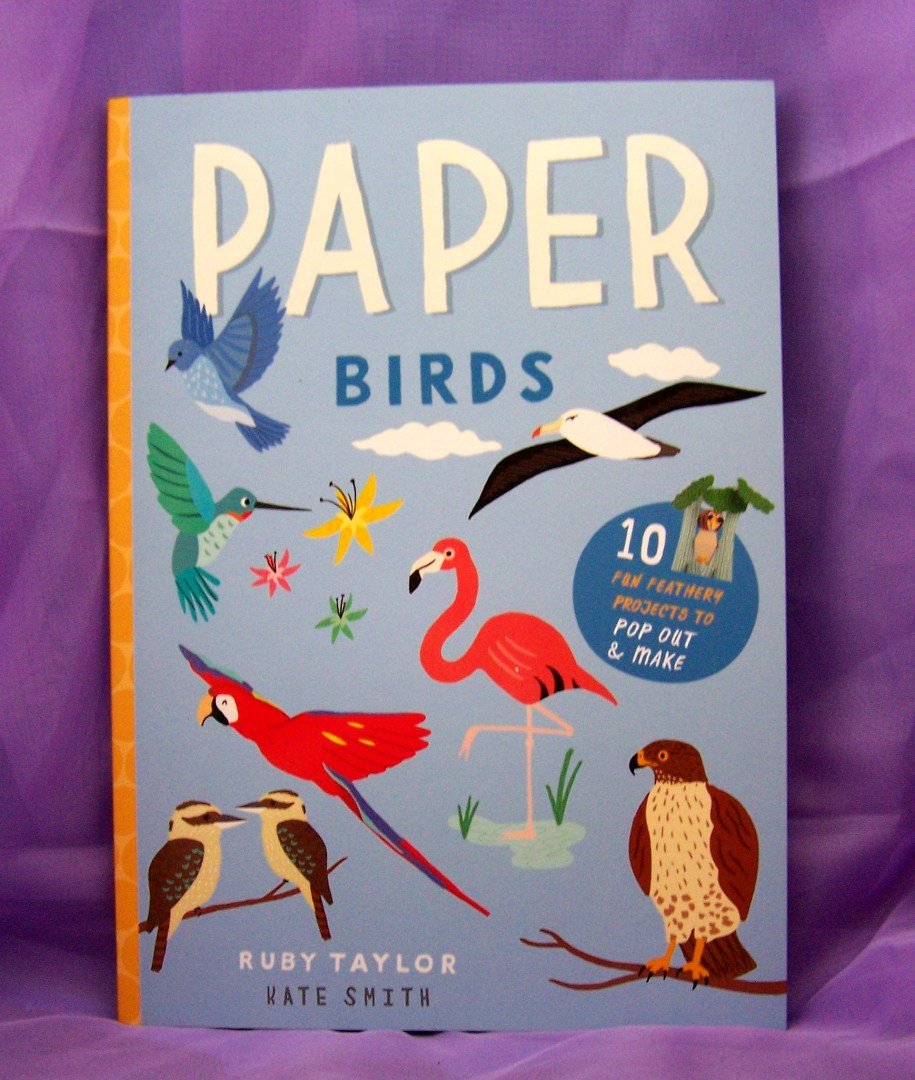 paper birds foldig origami cut out make craft kids fun holiday gift guide 2017 blogs blog nature books reading