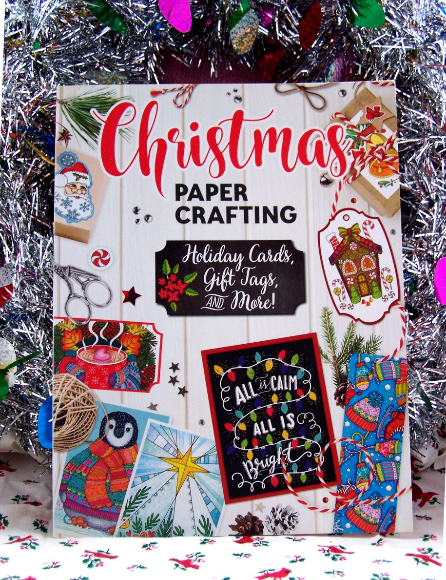 christmas paper crafts holiday gift guide books book crafting diy wrapping presents papercrafts blogs blog reviews fun illustration tags cards scrapbooking paper