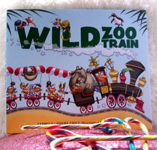 wild zoo train book illustrated kids young gifts holiday gift guide giveaay win christmas colorful bright hardcover book books reading