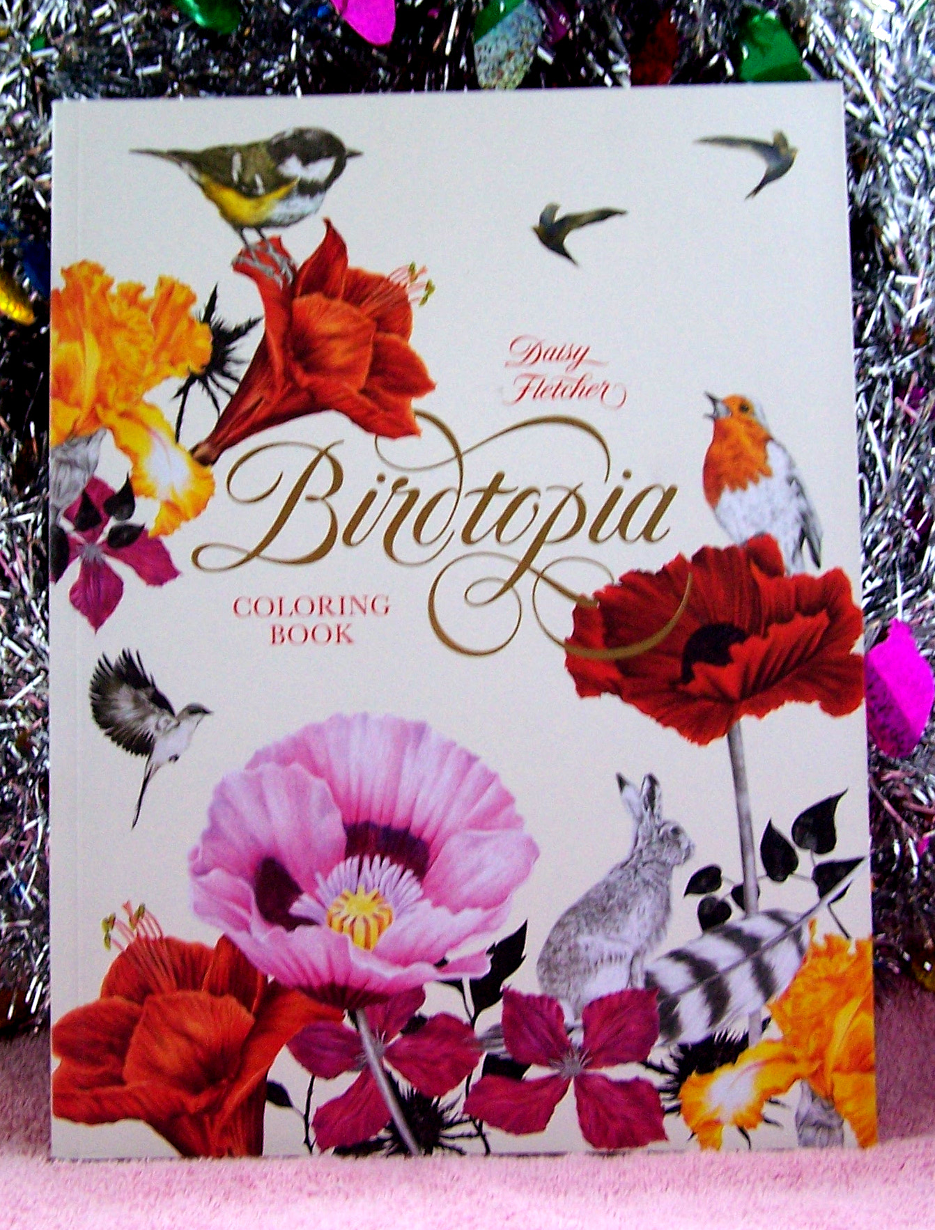 Birdtopia: Coloring Book: Holiday Gift Guide Giveaway! Ends 12/26