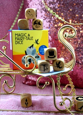 fairytale dice game review giveaway holiday gift guide magic fairies stories storytelling kids parents family