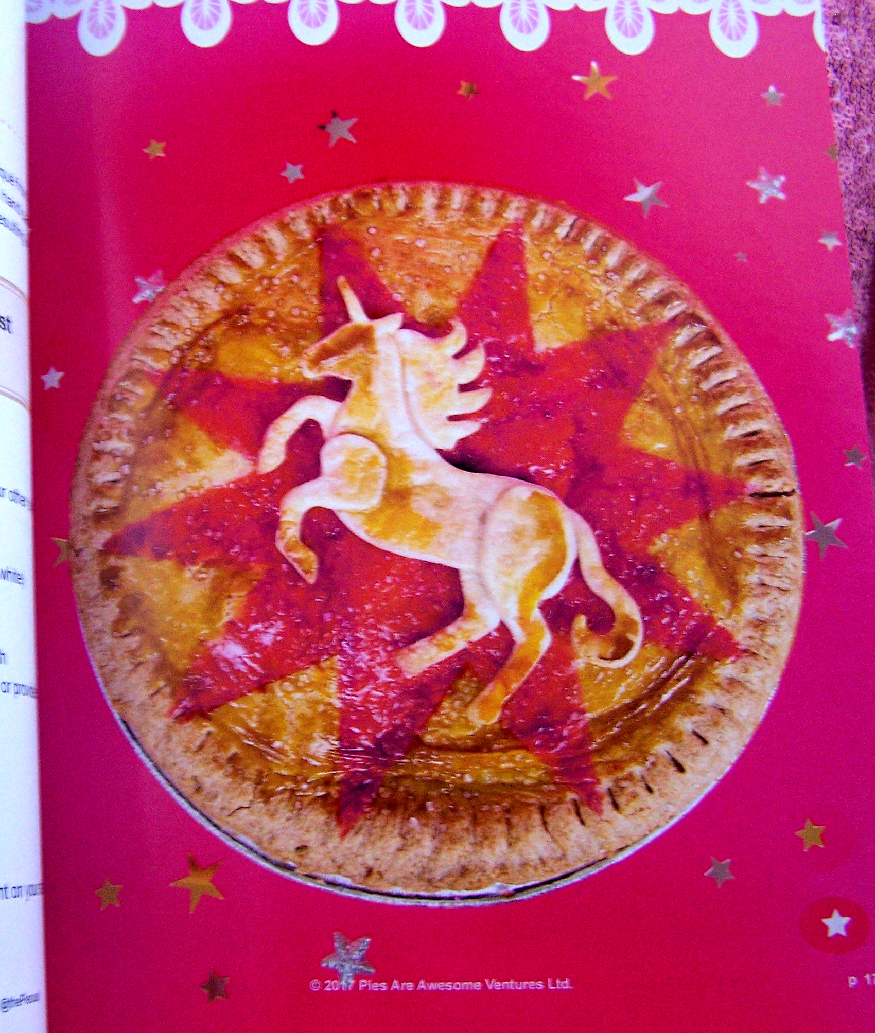 pie-modding unicorn book baking review blog cooking food art craft creative