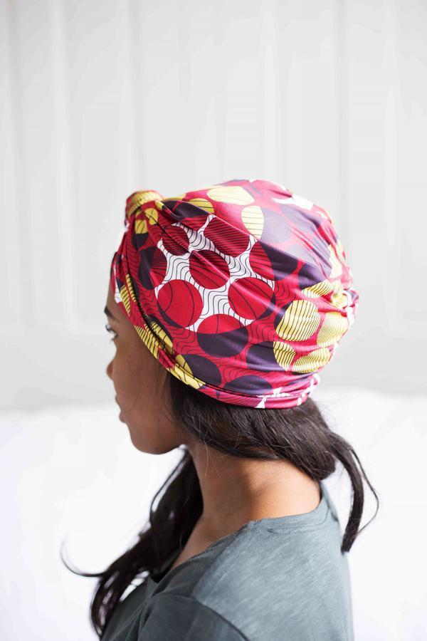 turban modern luxury fashion print colors back to school kids teen tweens headwear haircovering
