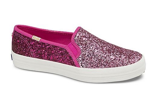 pink glitter keds shoes girls teens tweens sneakers sparkle blog fashion pr friendly guide gift back to school list shopping
