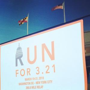#runfor321 Maryland #TeamNDSS