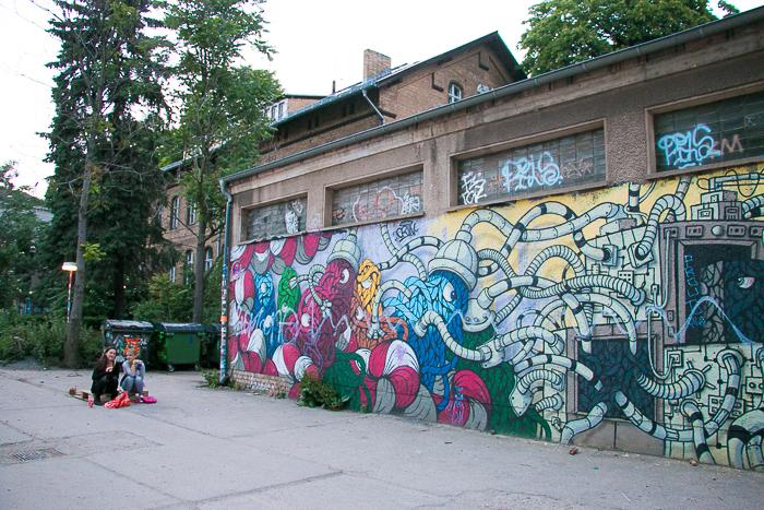 Street Art, Friedrichshain, Berlin