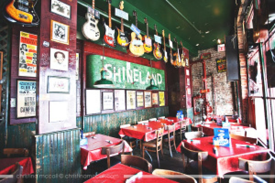 Rum Boogie Café on Beale Street in Memphis, Tennessee by Christina McCall