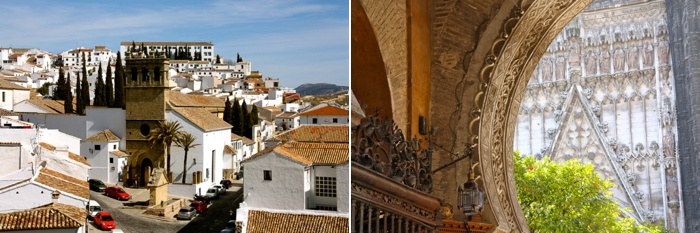andalusia, spain, itinerary