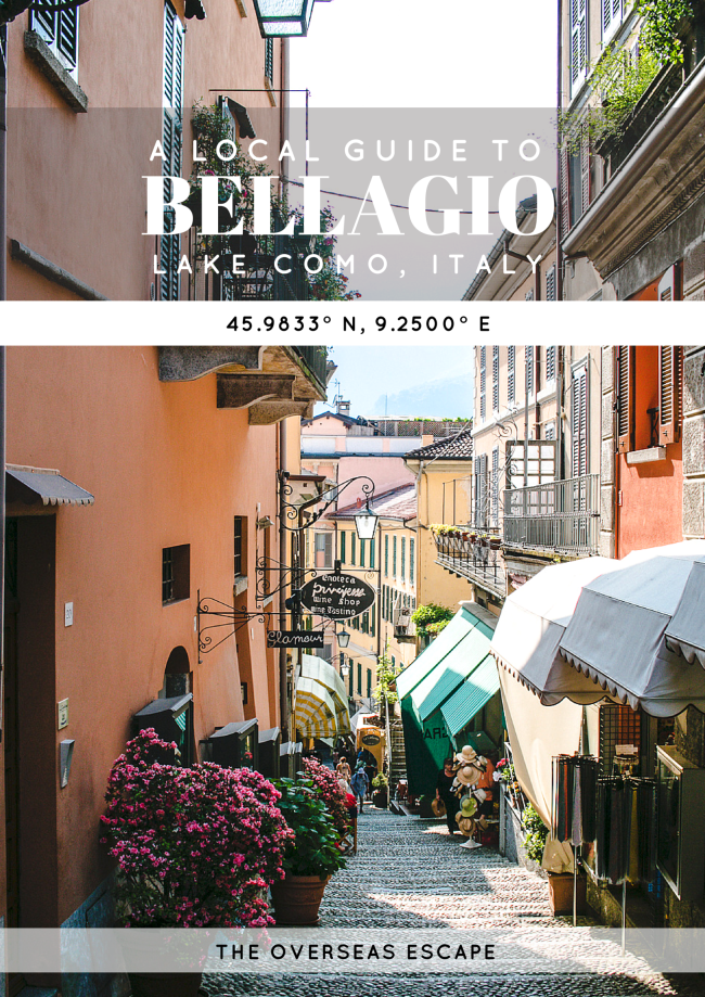Local Guide to Bellagio, Italy