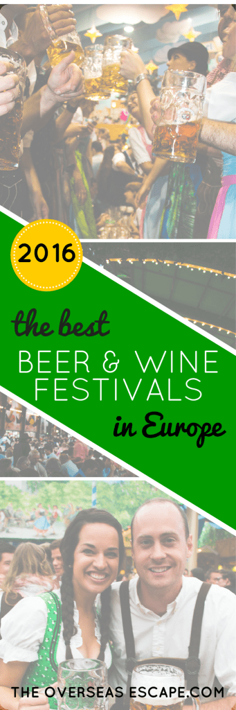 2016 Best Beer & Wine Festivals in Europe