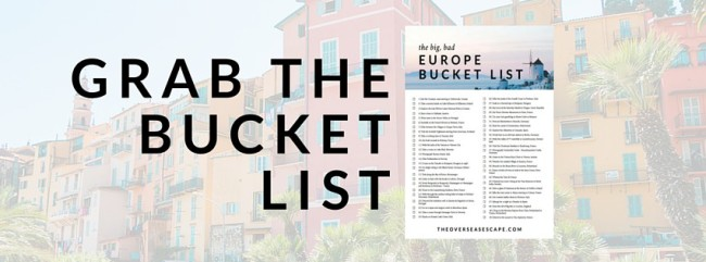 Big Bad Bucket List