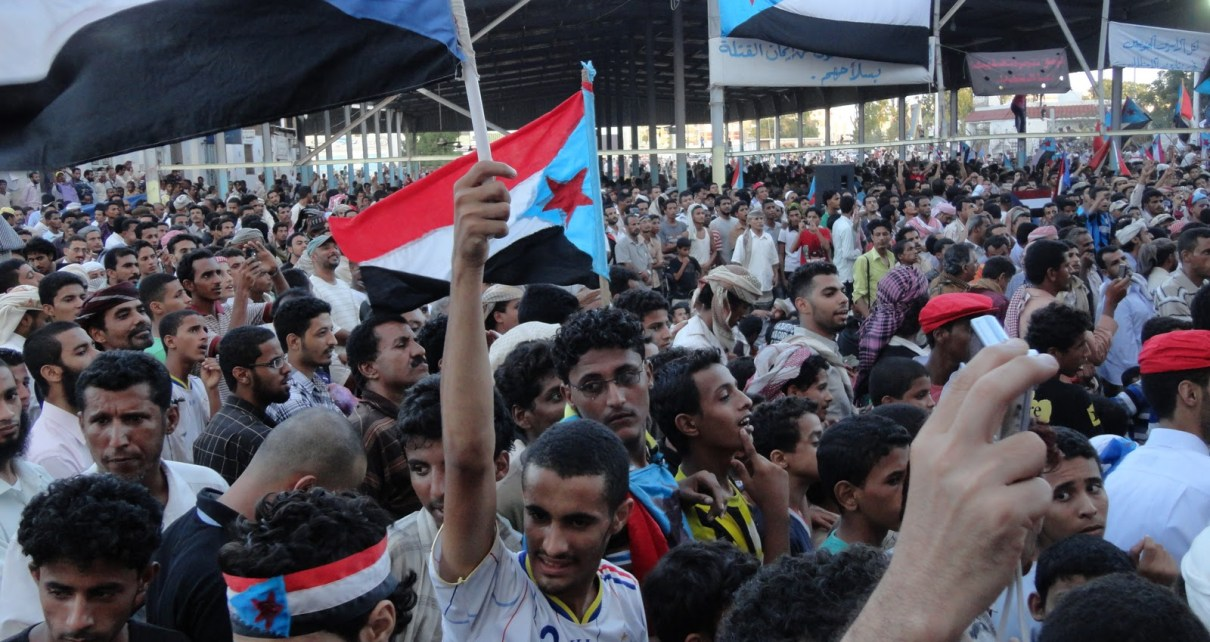 Protest during the Arab Spring in 2011