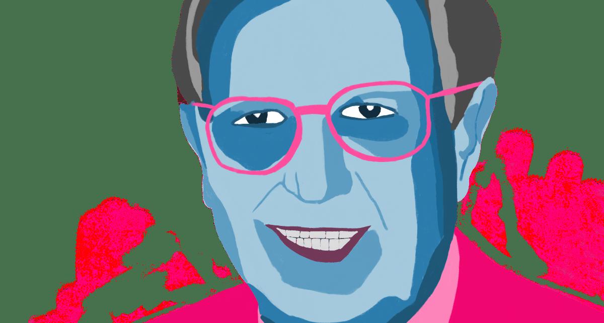 A portrait of Professor Alan Smithers