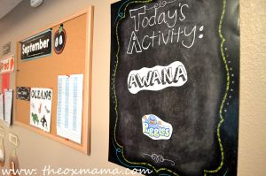 Homeschool Schedule - Awana + Bible story day. This weekly tot school schedule will keep you structured and focused on that weeks theme | theoxmama.com