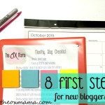 8 Key First Steps for a New Blogger