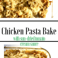 Chicken Bake With A Sun-Dried Tomato Cream Sauce