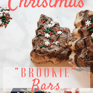 "Immaculate Christmas ""Brookie"" Bars"