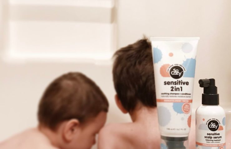 A Family Dealing With Sensitive Skin