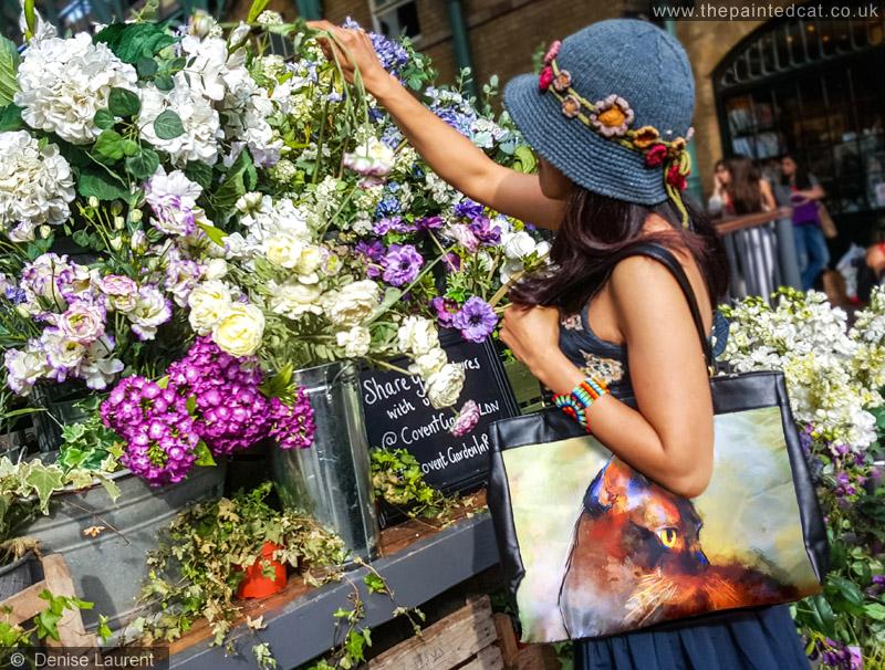 Elli Cat Bag In Covent Garden Flowers