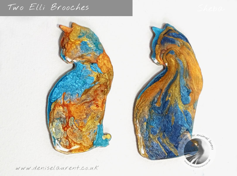 Elli Two Brooches