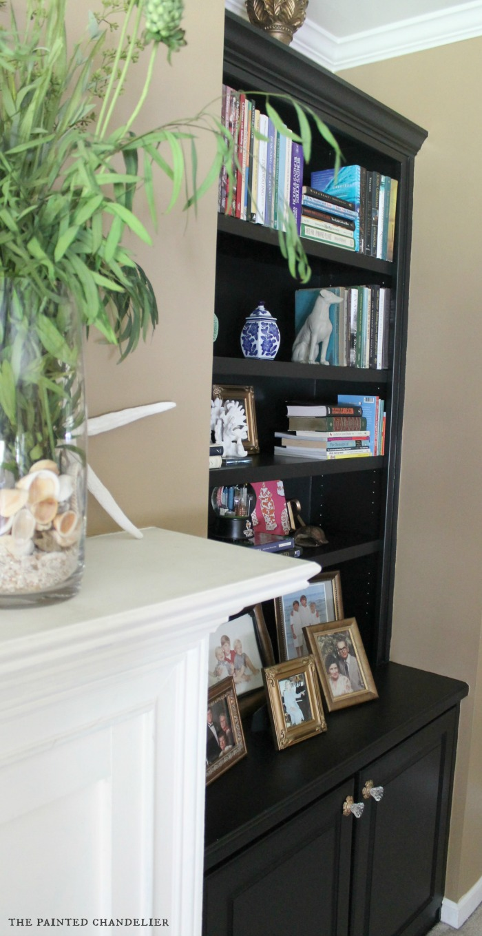 bookcases out home makeover office bookshelves painted check in this diy bookcase pin the