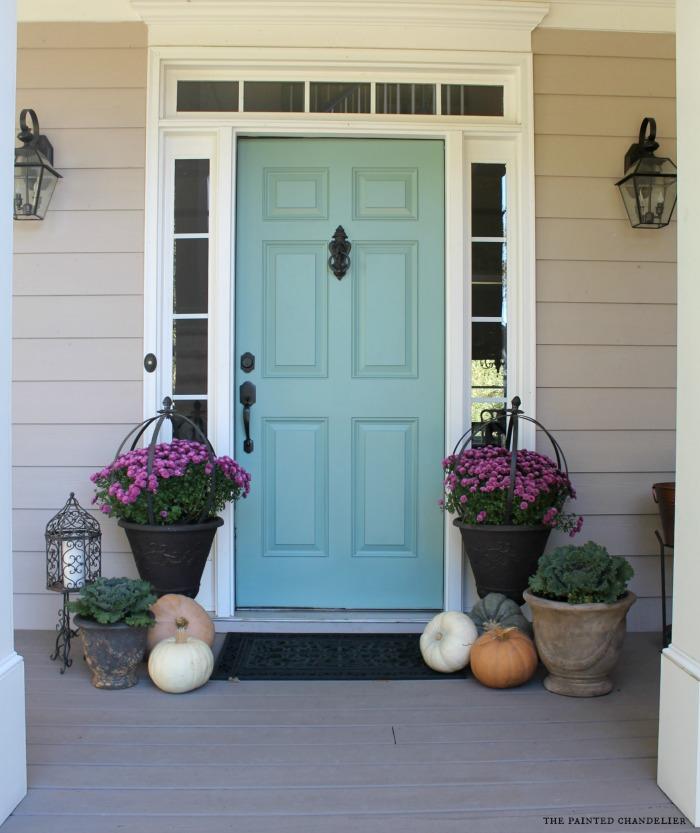 Door Color Ideas: 10 Pretty Blue Doors - A Pop of Pretty ... on Door Color Ideas  id=81571