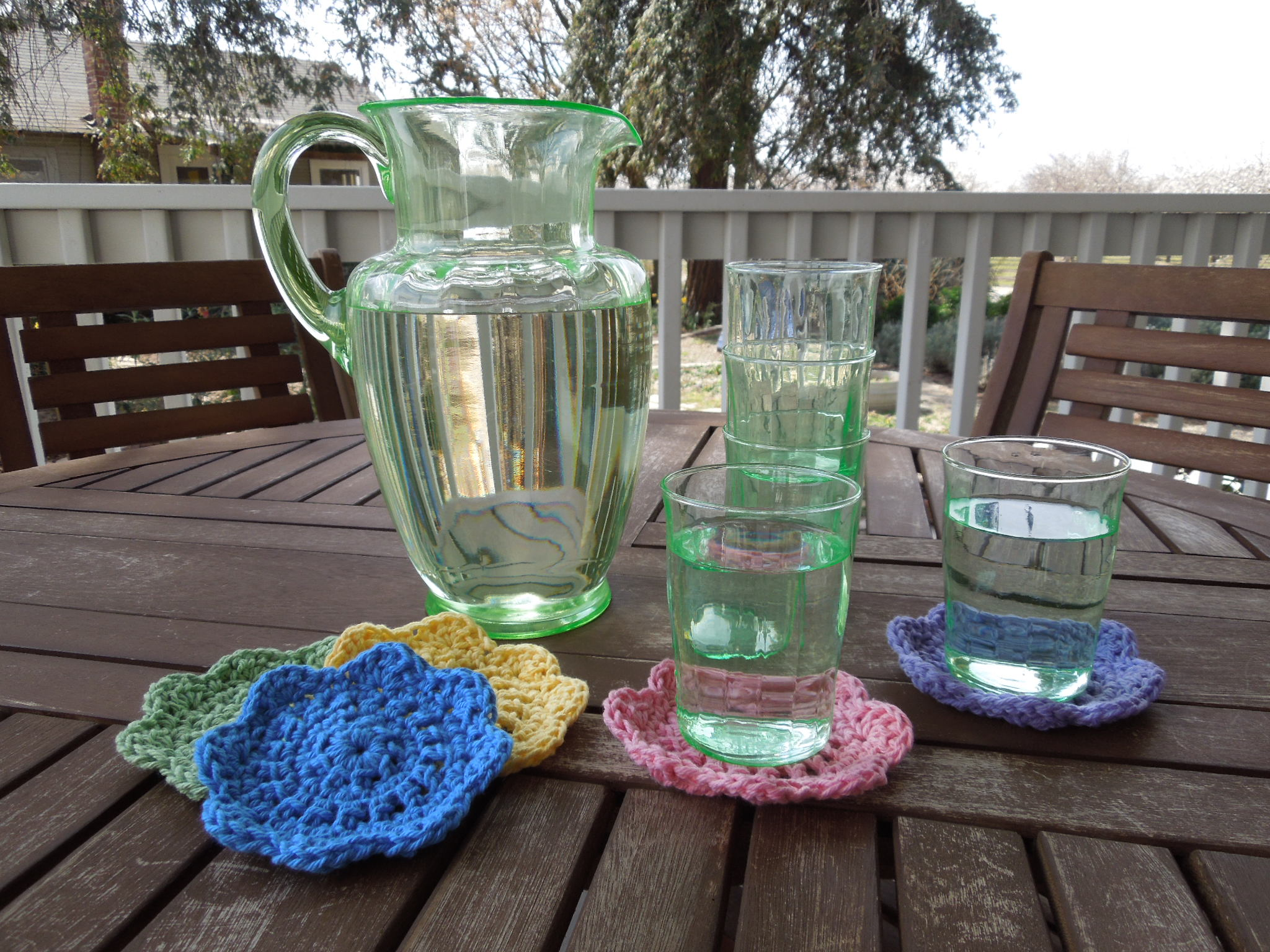 Quick & Easy Coasters Free Crochet Pattern