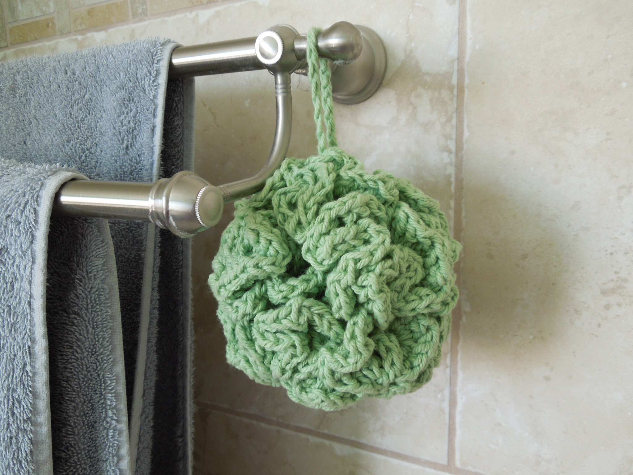 Bath Pouf Free Crochet Pattern